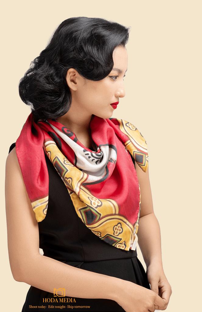 Chụp ảnh khăn lụa   Hodamedia.com