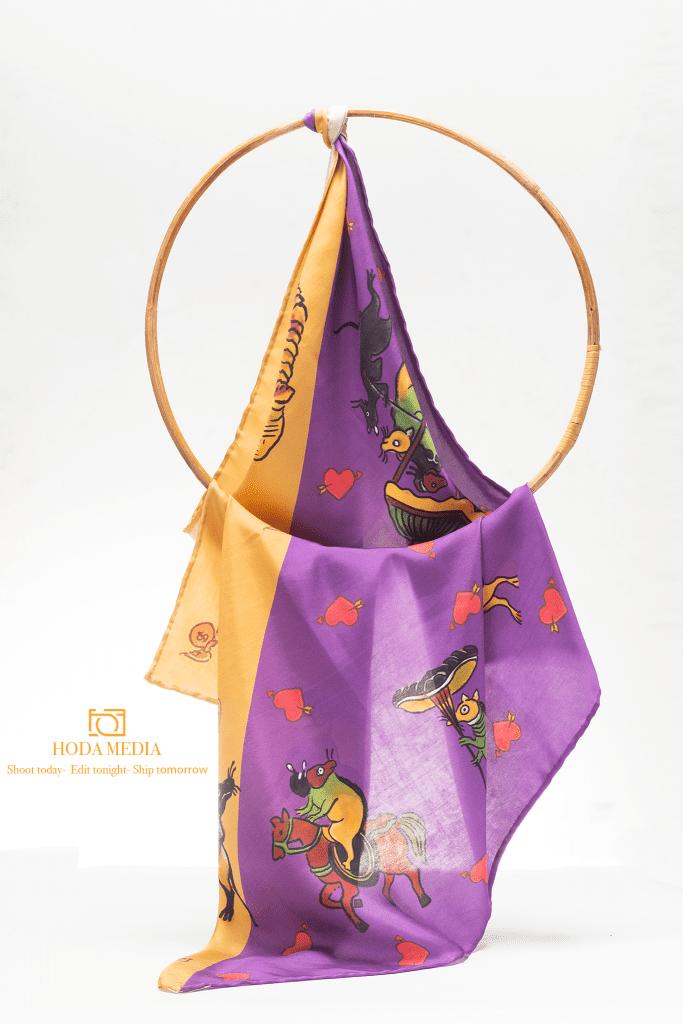 Chụp ảnh khăn lụa | Hodamedia.com