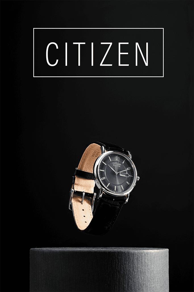 chụp ảnh sản phẩm đồng hồ citizen